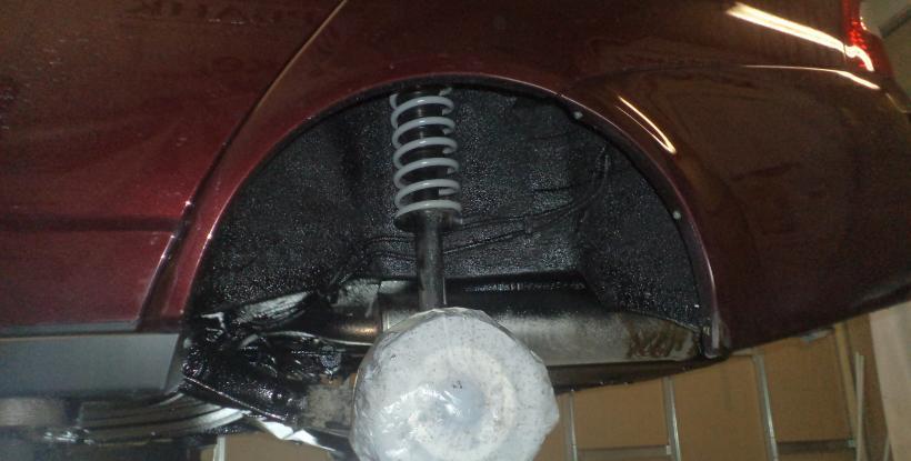 Обработка подкрылков автомобиля своими руками 90